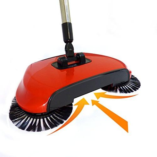 Automatic Spin in Brush Dustpan M&W