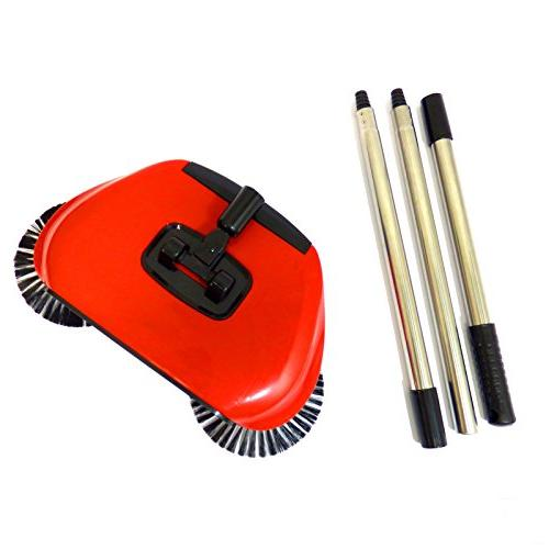 Automatic Spin in Floor Brush Dustpan M&W