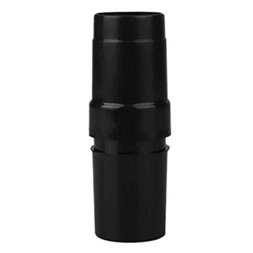 Black ABS Vacuum Hose Adaptor Attachment for Extraction Vacuum Cleaners