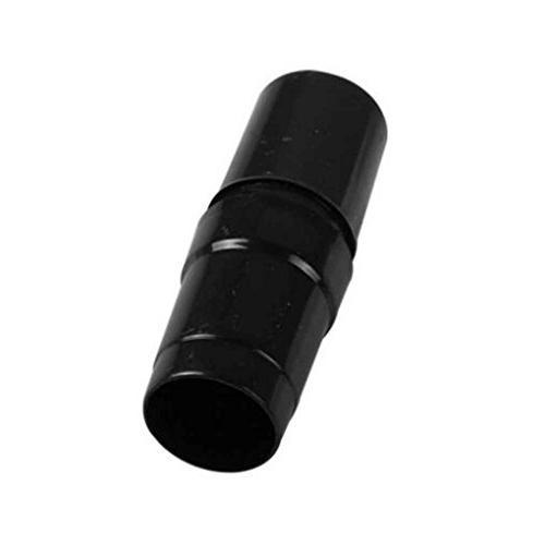 Black Plastic Vacuum Hose Adaptor Converter Vacuum Cleaners