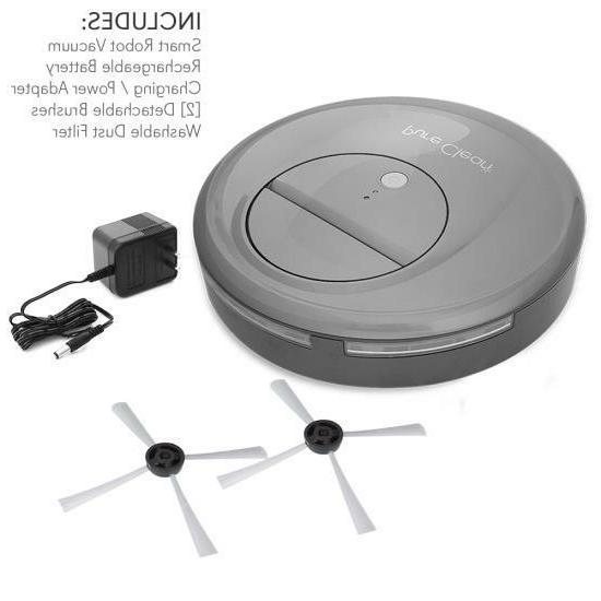 Pure Clean Smart Robot Vacuum Sweeper Cleaner w/ Self-Navigated Automatic
