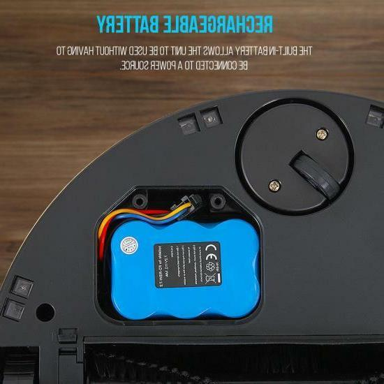 Vacuum Sweeper Cleaner Self-Navigated Automatic