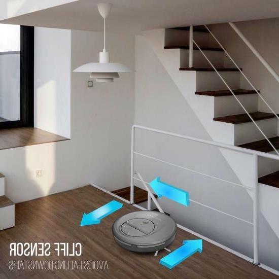 Pure Clean Vacuum Sweeper w/ Self-Navigated