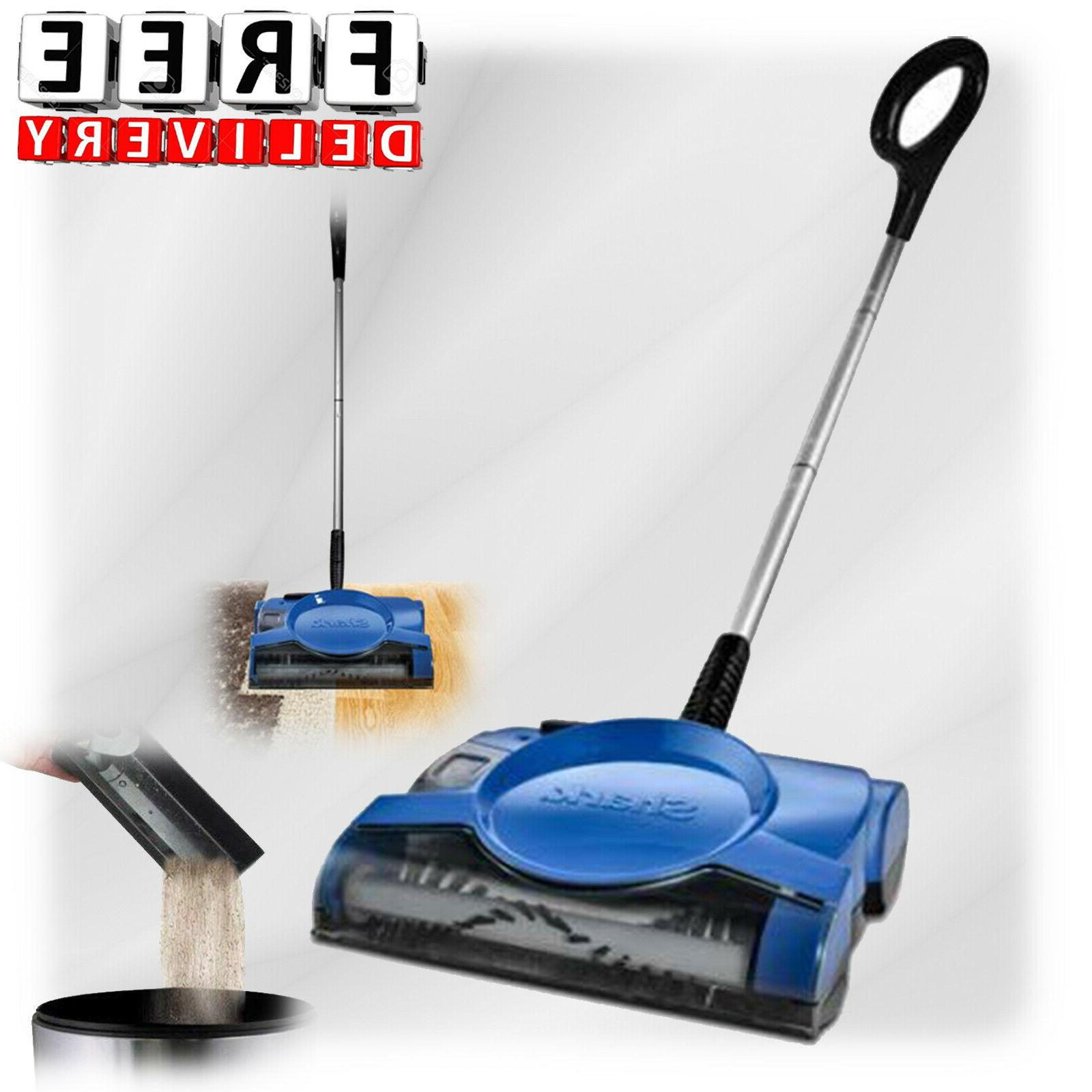 cordless sweeper floor carpet swivel rechargeable vacuum