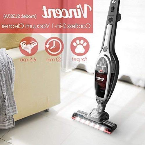 Roomie Vacuum Cleaner, Handheld High-Power 2200mAh Li-ion Rechargeable Corner Charging