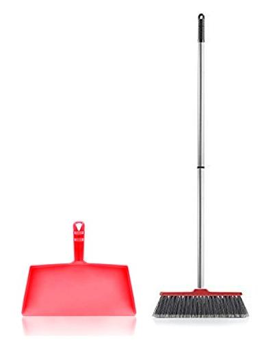 fiesta red kitchen complete broom
