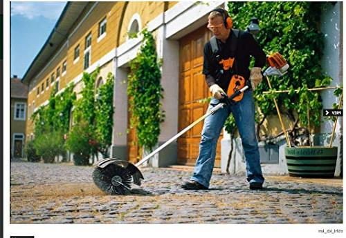 GDAE10 Hand Broom, 52cc Cleaning Driveway Performance Cleaner 2.3HP