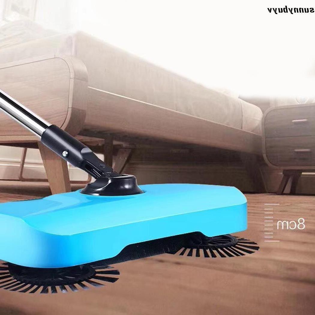 Household Push Broom 360 Rotary Floor Dust Sweeper Mop