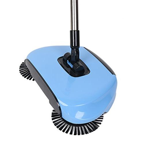 Lazy Household Hand Push Automatic Broom Including & Trash Cleaner