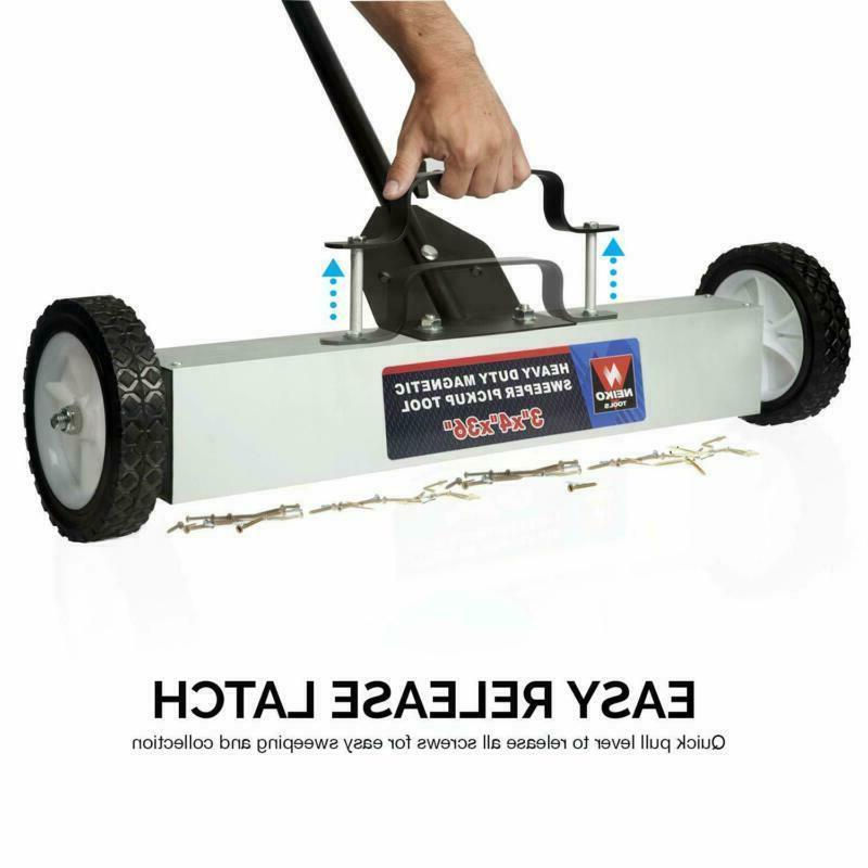 Neiko Magnetic Sweeper Lb,   Adjustable Handle