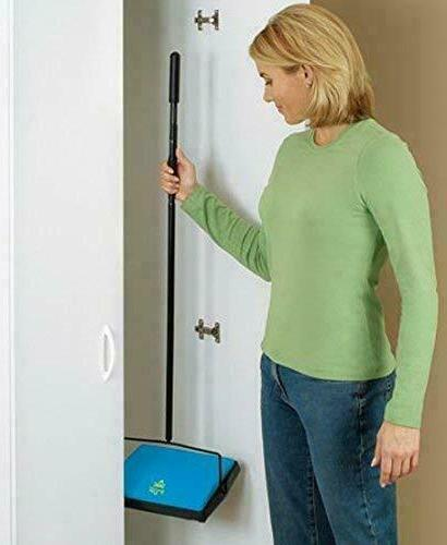 NEW Bissell 2101B Cordless Floor Carpet Sweeper Built-in Pan