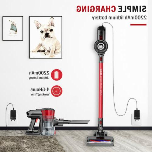 ONSON Stick Vacuum Cleaner in 1 LED Floor