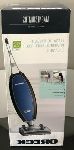 NEW Oreck Magnesium RS Swivel-Steering Bagged Upright Vacuum