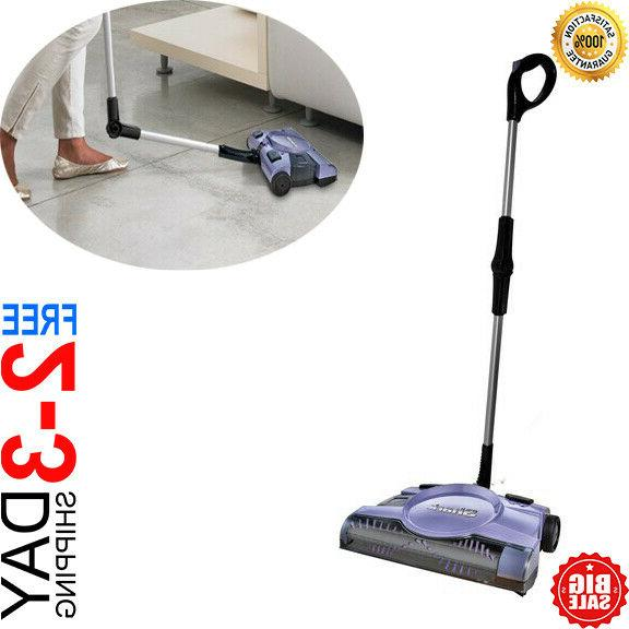 new swivel rechargeable floor carpet sweeper 12