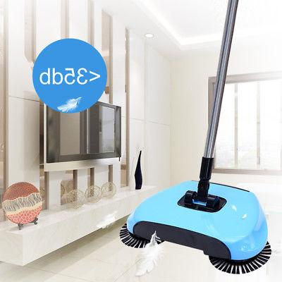 Household Push Sweeping Broom 360 Rotary Dust