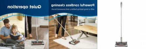 perfect sweep turbo cordless sweeper driftwood