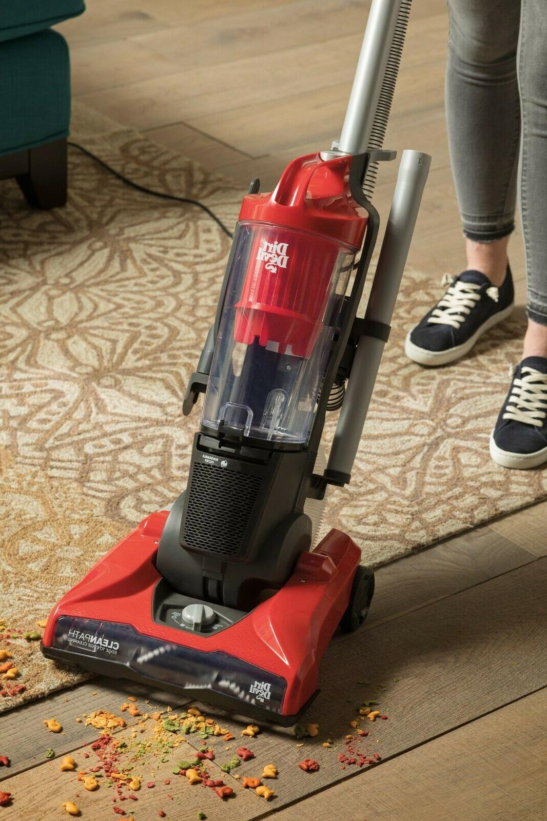 Dirt Devil Max Bagless Upright Vacuum UD70161