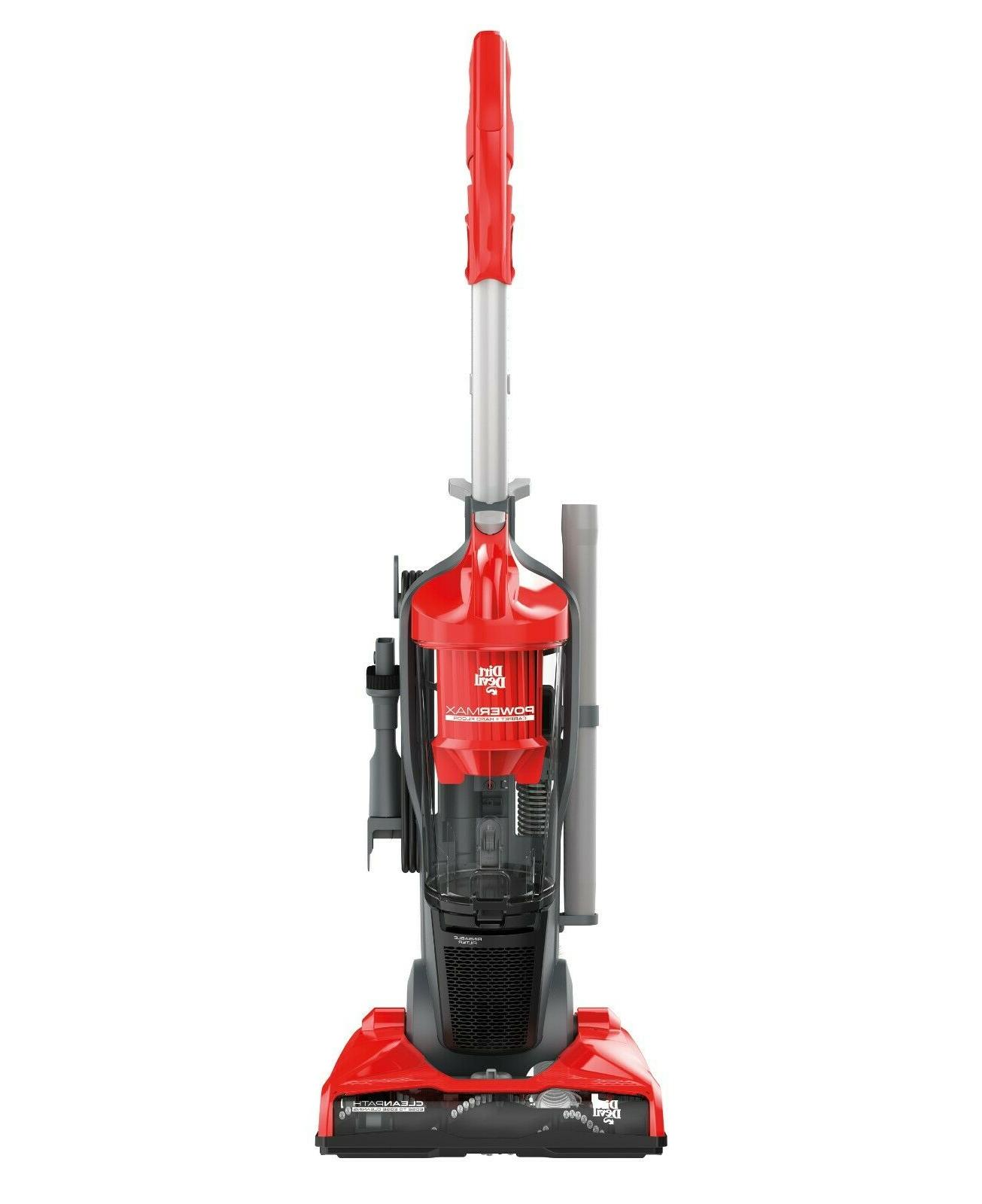 power max bagless upright vacuum ud70161 sweeper