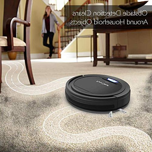 PURE CLEAN Robot Auto Vacuum Home Bot Detects - Filter Hair Allergies