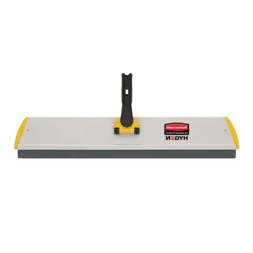 Rubbermaid Q570 Microfiber Connect Frame, Squeegee, in.w x 4 Aluminum,Yellow