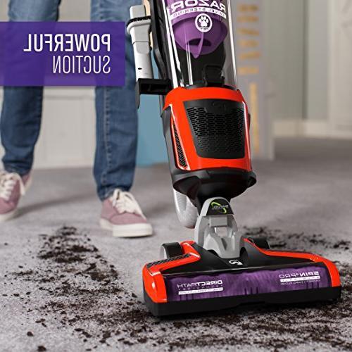 Dirt Devil Razor Bagless Corded Upright Vacuum Cleaner Swivel Steering, UD70355B