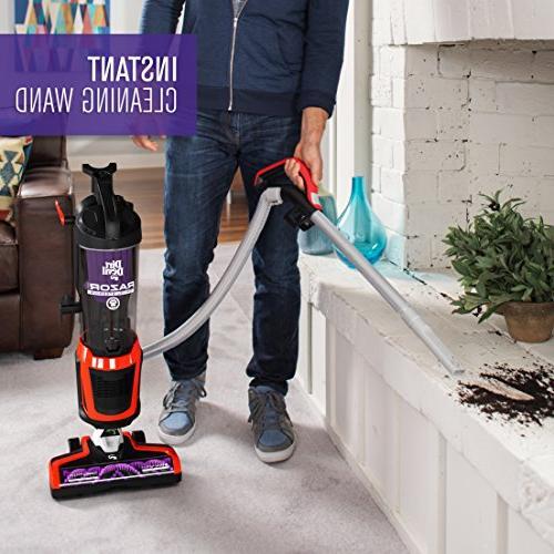 Dirt Devil Razor Bagless Multi Upright Vacuum Cleaner with Swivel Red
