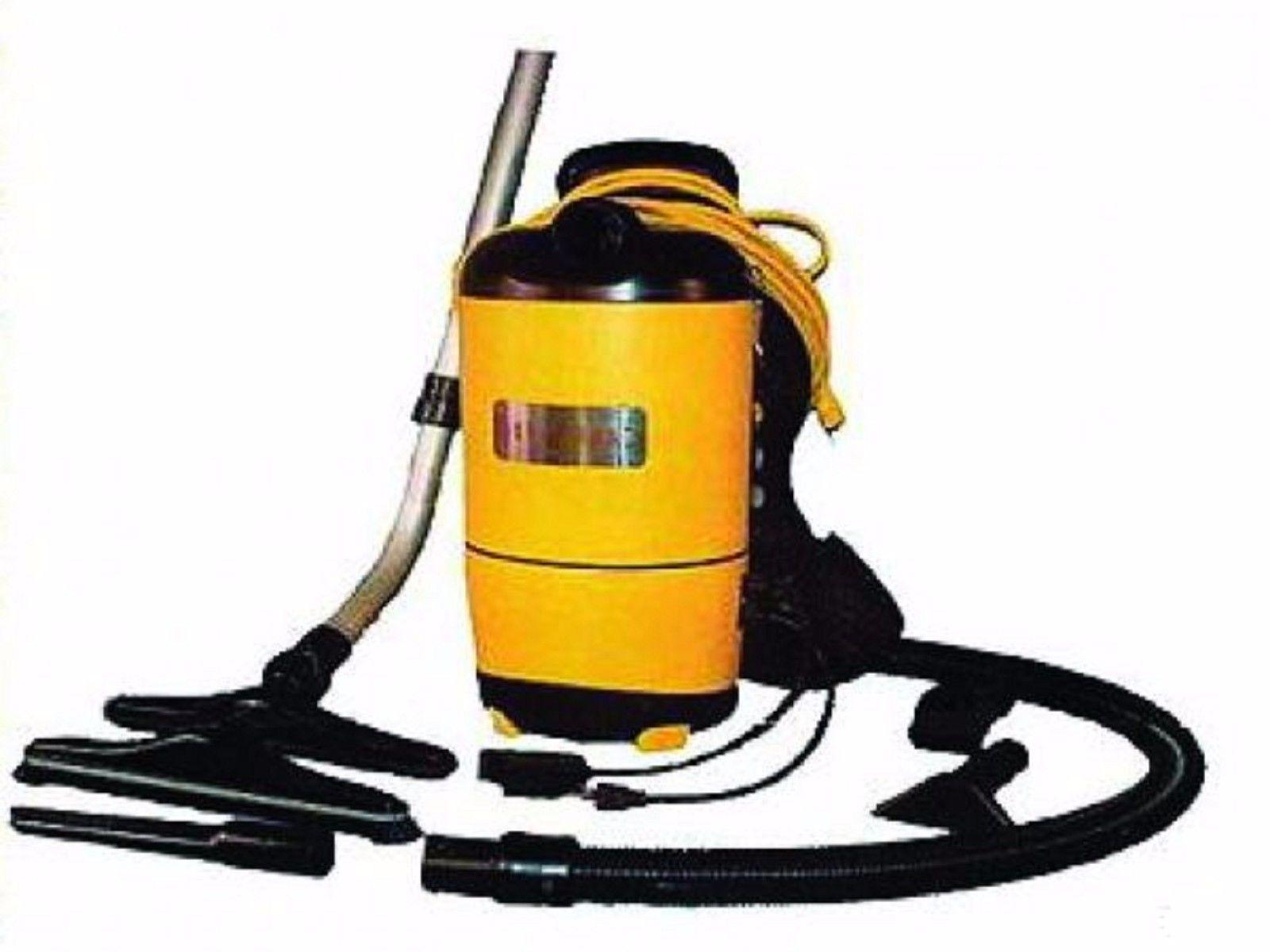 Carpet Pro Backpack Commercial Yellow Vacuum Cleaner