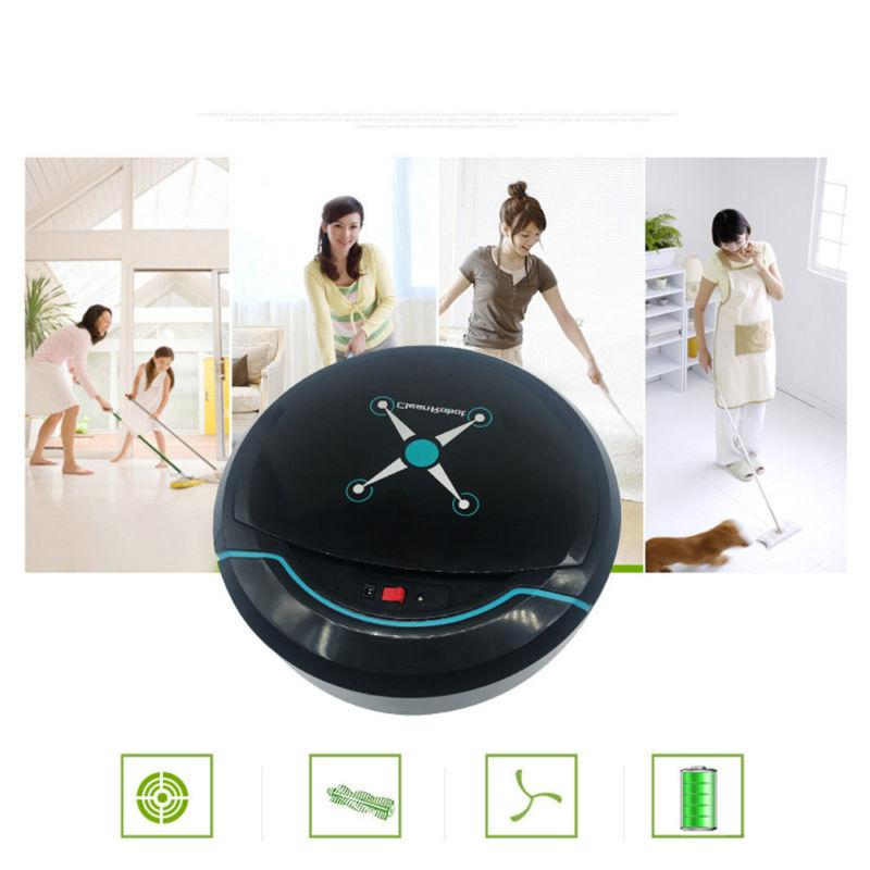 Self Navigated Rechargeable Robot Cleaner Auto Sweeper Edge Clean