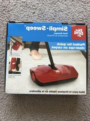 Dirt Devil Simpli-Sweep Sweeper
