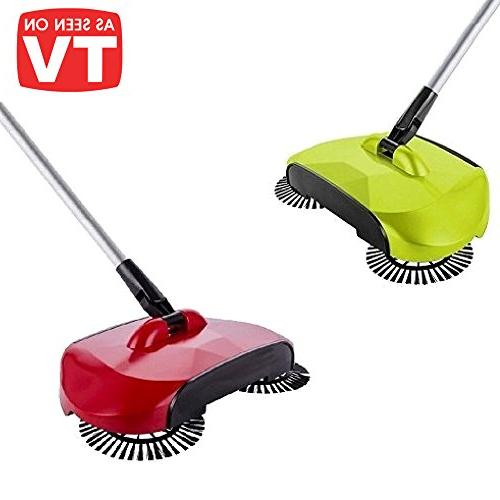 spin broom sweeper