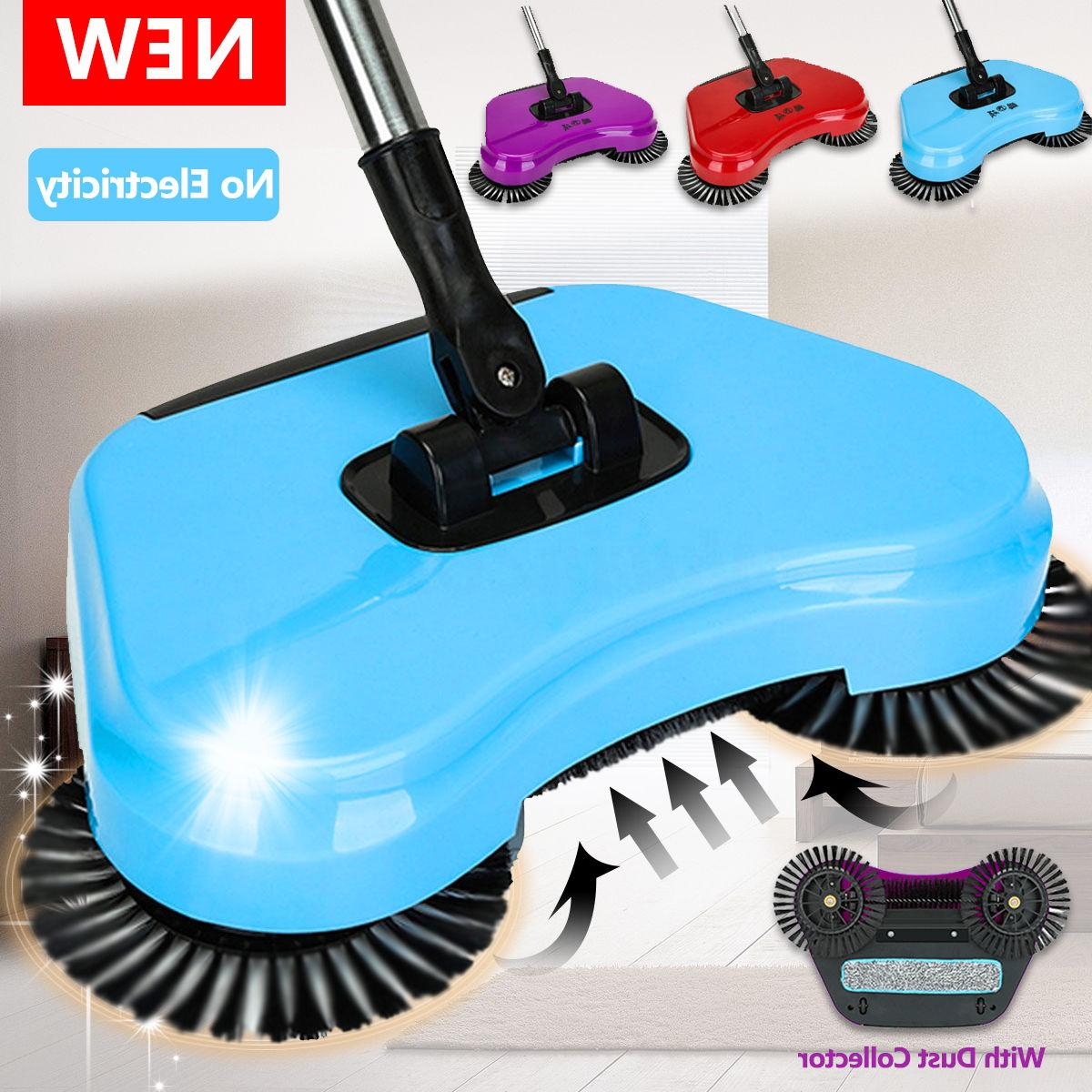 Spin Hand Push Broom Household Mop