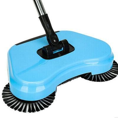 Spin Push Broom Dust Cleaning Mop