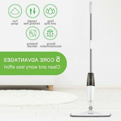 Spray Mop Cleaner Home Floor Bath Kitchen Sweeper Broom Micr