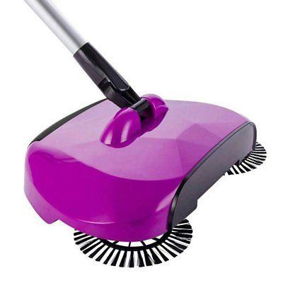 super hand push sweeper broom 360 degree