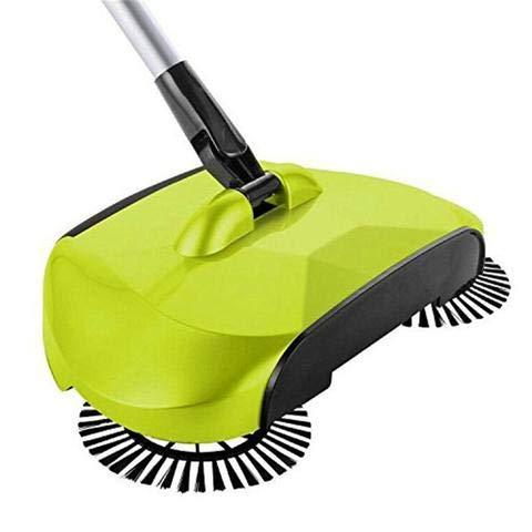 KORCCI Sweeper Broom, 1 Pc or Green, As on Powerless Sweeper for Wood, and