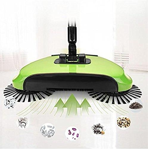 KORCCI Sweeper or Green, on TV. Powerless Sweeper for Wood, and Concrete.