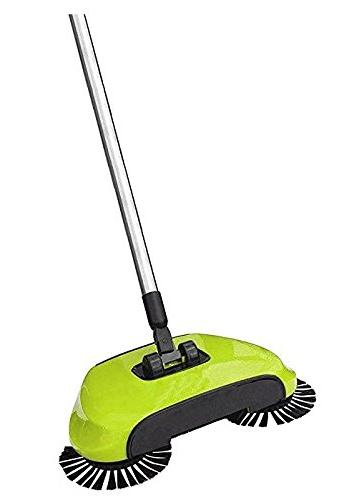 KORCCI or on TV. Lightweight Sweeper Attached for Wood, Tile, and Concrete.