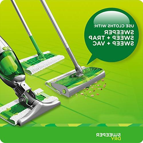 Swiffer Sweeper Dry Mop Refills For Floor Mopping