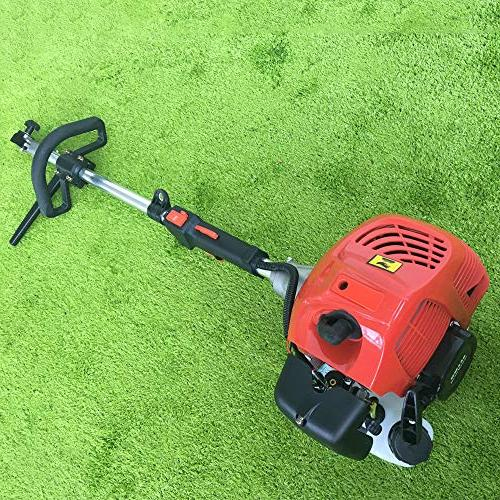 GDAE10 Outdoor Hand Broom, Gas Broom Sweeper Cleaning Performance 2.3HP