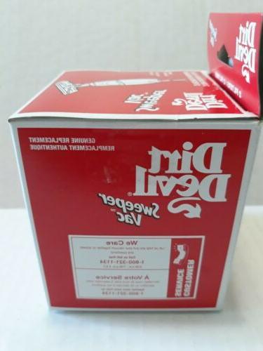 DIRT DEVIL Filter Genuine Pack Sealed