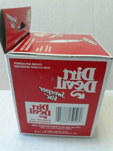 DIRT DEVIL Sweeper Filter Genuine Pack 3-SG15650-001