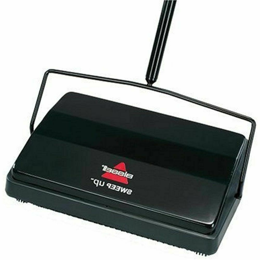 swift dual brush sweeper broom cordless carpet