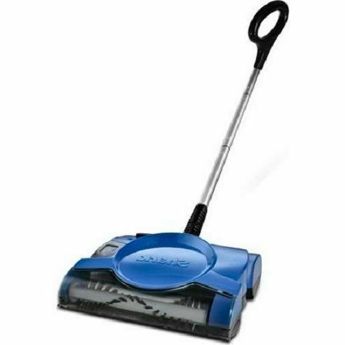 swivel cordless sweeper floor carpet rechargeable sweep
