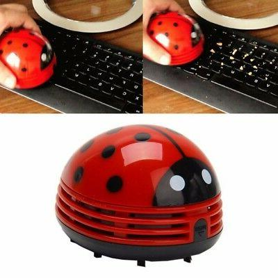 Mini Beetle Corner Desk Table Dust Vacuum Micro Desktop Clea