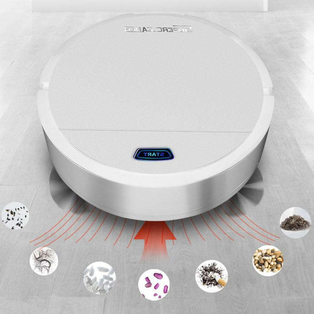 Usb Rechargeable Smart Vacuum Cleaner Robot Automatic Sweeper