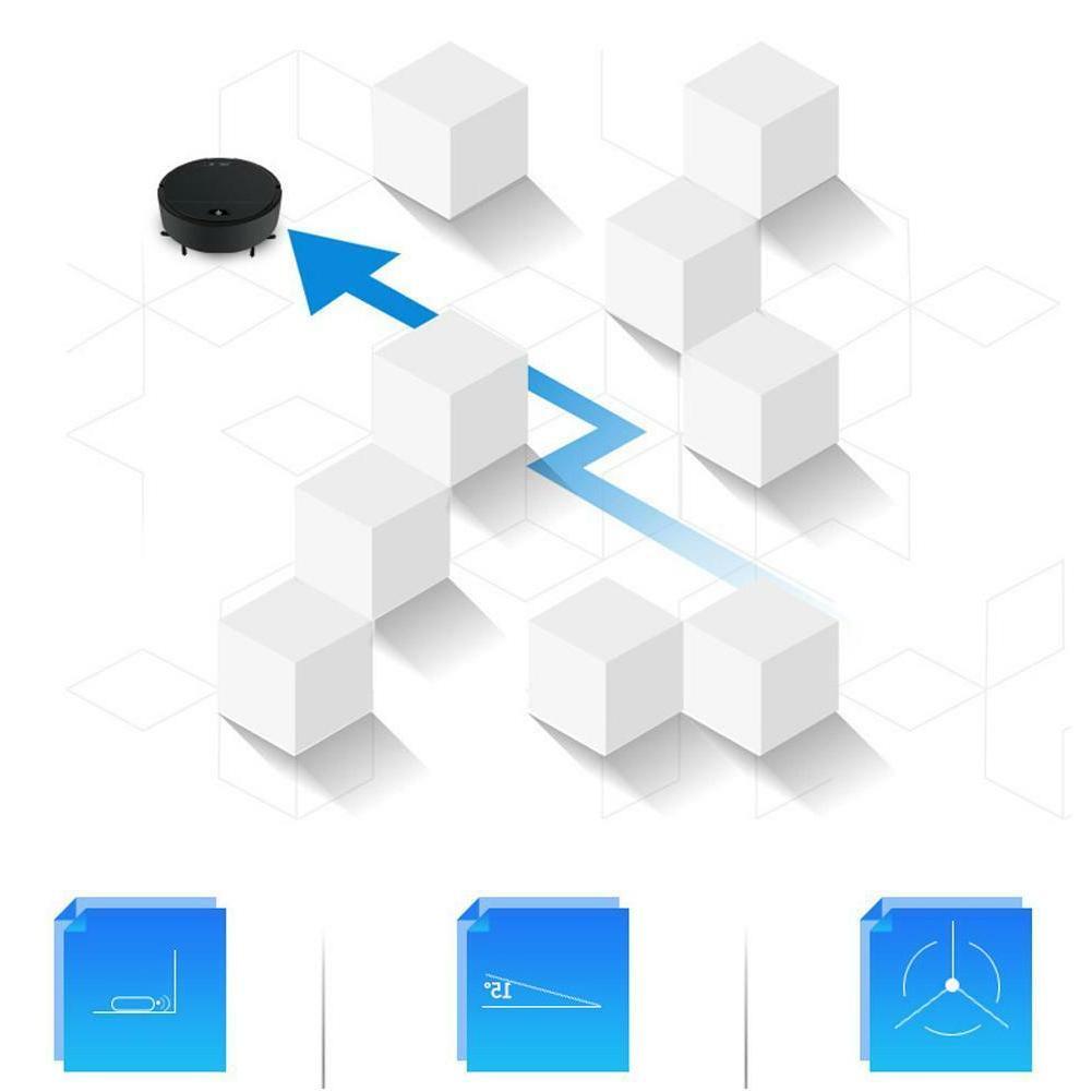 USB Rechargeable Cleaner Robot Sweeper Carpet Mop Floor