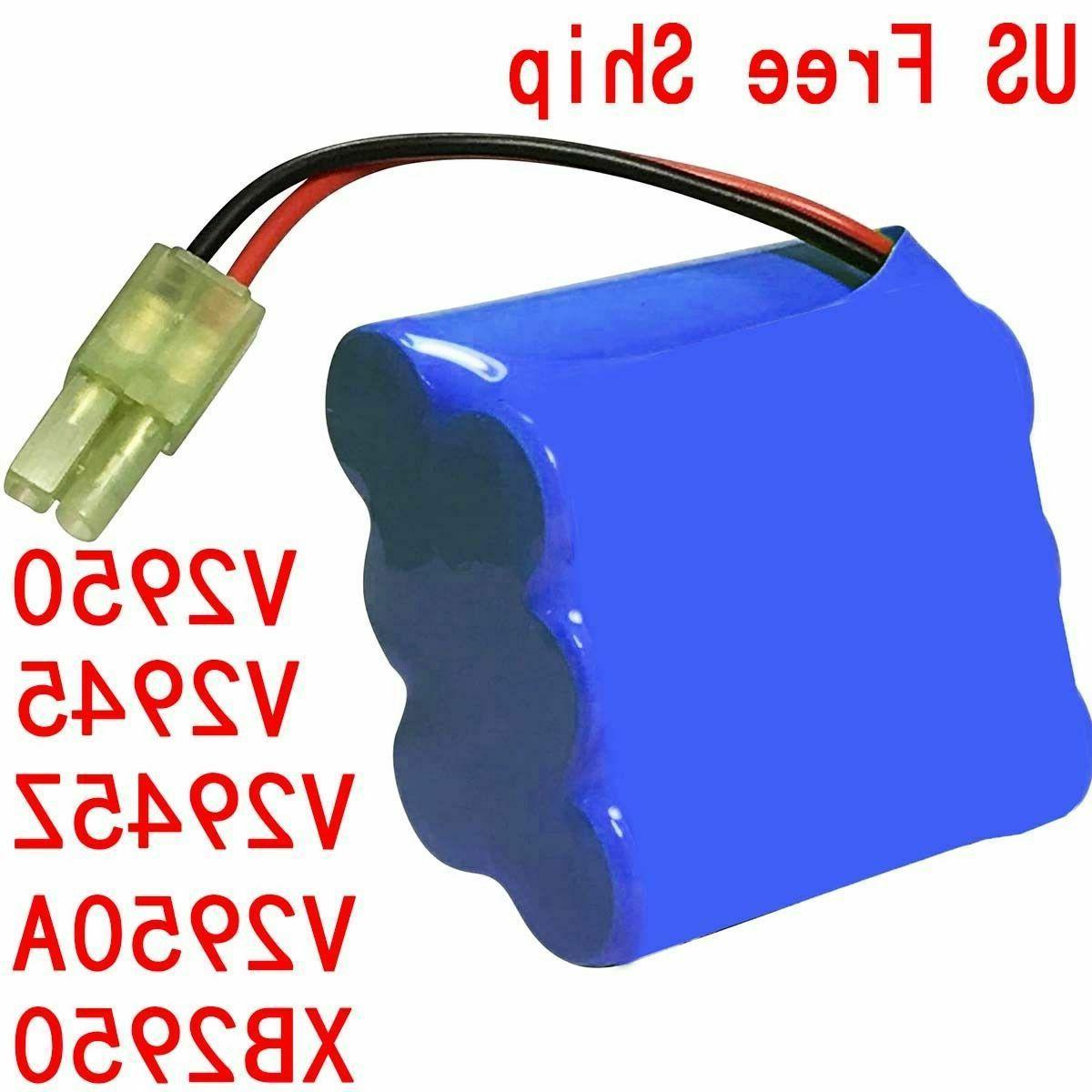 V2950 Shark Battery Pack Replacement for Shark Carpet Sweepe