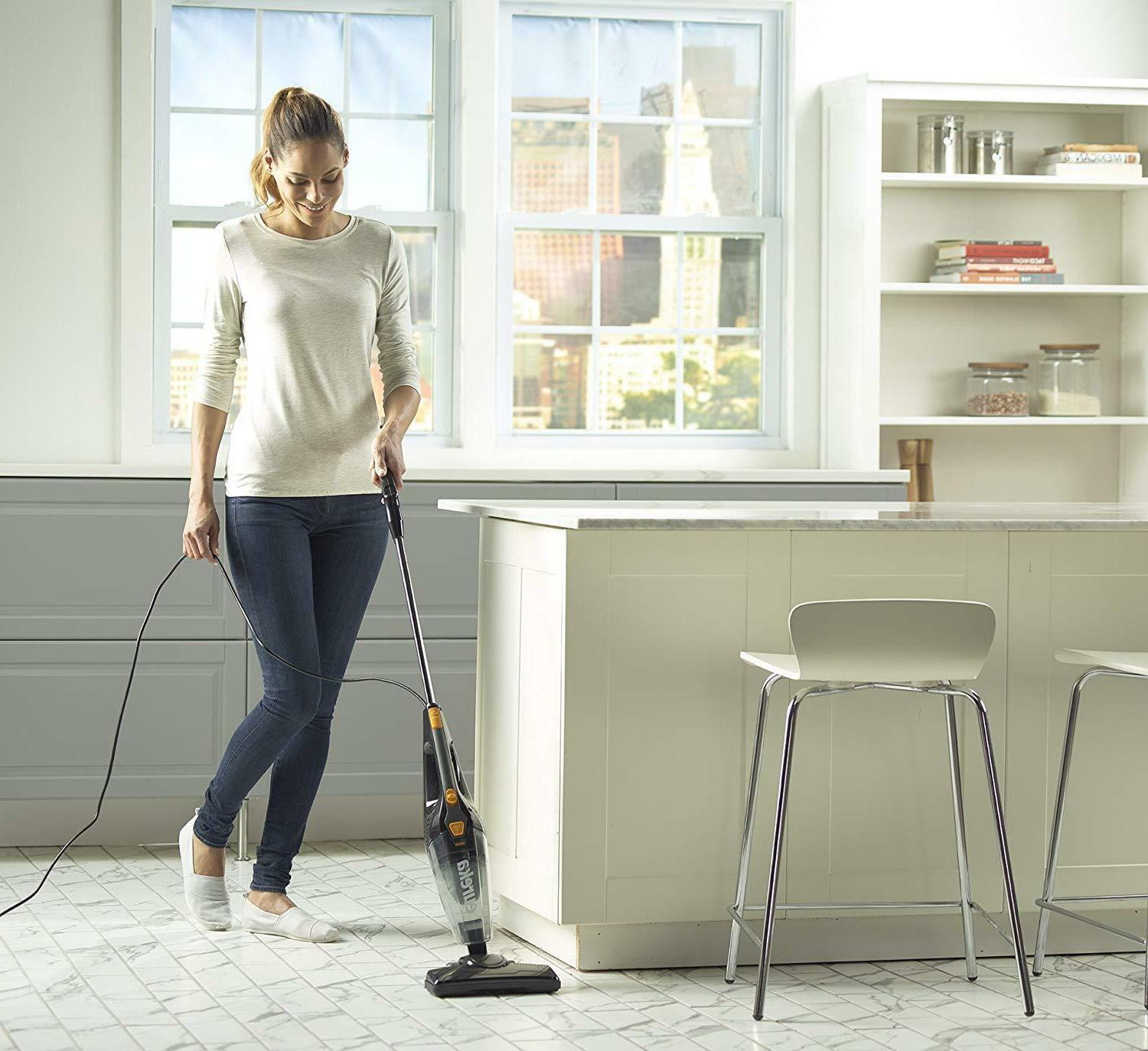Wood Floor Vacuum Lightweight Best Upright Cleaner Electric New