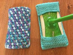 Lot of 2 Reusable Pads fit Swiffer Sweeper-Handmade