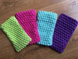 Lot of 4 Reusable Pads fit Swiffer Sweeper-Handmade-Random C